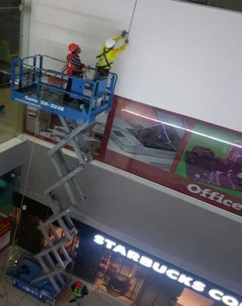mantenimiento en altura
