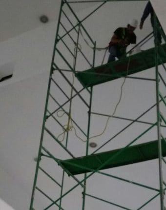 pintura a gran altura