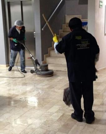 pulido en pisos de marmol